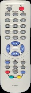 TOSHIBA CT-90119 [TV] пульт ДУ  для телевизора - магазин Remote - Фото 1
