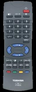 TOSHIBA CT-90229 [TV] оригинальный пульт ДУ  для телевизора - магазин Remote - Фото 1