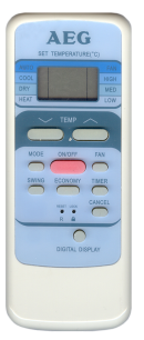 AEG R51K-BGE пульт для кондиционера [Conditioner] оригинальный пульт ДУ для кондиционеров - магазин Remote - Фото 1