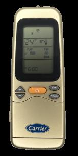 CARRIER VER.1 [Conditioner] оригинальный пульт ДУ для кондиционеров - магазин Remote - Фото 1