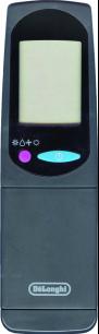 DeLonghi VER.1 black [Conditioner] оригинальный пульт ДУ для кондиционеров - магазин Remote - Фото 1